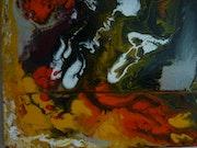 Peinture Abstraite n°2.