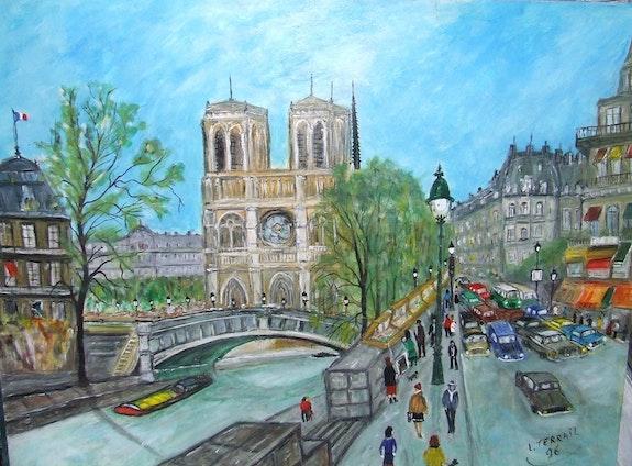 Notre Dames d'aprés un tableau Maurice Legendre. Luc Terrail Luc Terrail