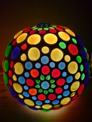 Design Lamp «Lollypop».