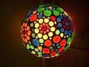 Design Lamp «Flower Planet.