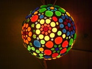 Design Lamp «Flower Planet.