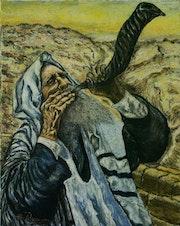 The shofar.