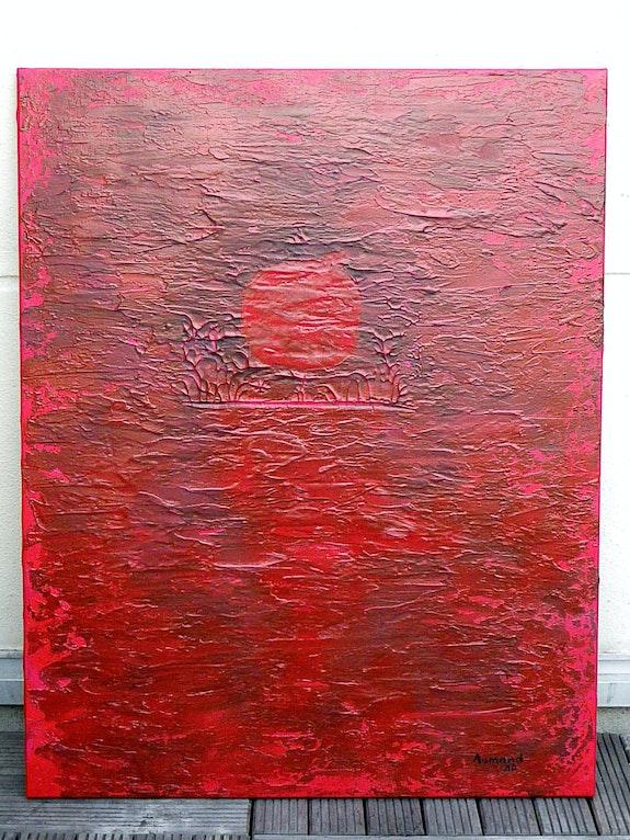 Soleil rouge / Red sun. Stéphane Aumand Aumand Stéphane