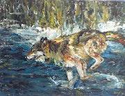 Wolf Running.