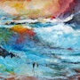 Colorful waves. Alshaikh Idris Aldaw
