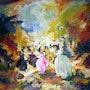The dancers3. Alshaikh Idris Aldaw
