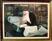 Torah Writing. Lucy Henriquez