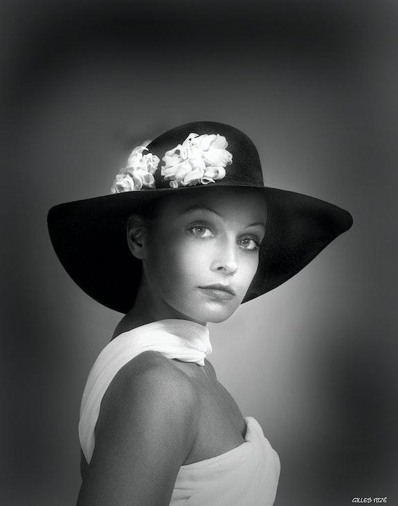 Portrait of a Woman 1972-6. Gilles Bizé Gilles Bizé