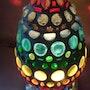 Tischlampe «Blumen - Knospe». Diana Rosa Scholl