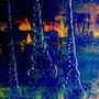 Chien de ville 70/50 huile sur toile 2009. Berrut. Re. Inus