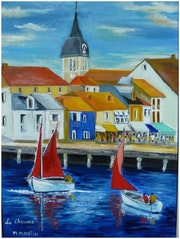 Vendée: el puerto de paja. Monique Martin