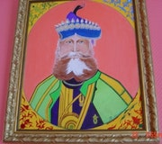 Porträt eines indischen Maharadschas. Rdoby