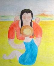 Bild 353: «Mutter mit Kind». Hans-Joachim Salchow