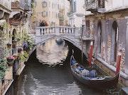 Un pequeño puente en Venecia. Thierry Duval