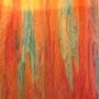 Trois d»» peinture huile sur lin Auteur Marie-louise Trichet. Marie-Louise Trichet - Marielys