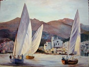 Light on sails, Cadaques.