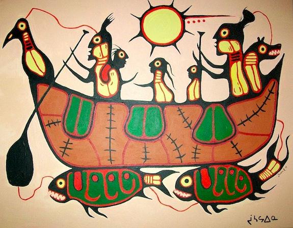 Art des Premières Nations Du Canada. Justin Rautenberg Justin Rautenberg
