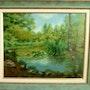 «Der Teich Märchen Wald von Fontainebleau 77. Colette Trôme