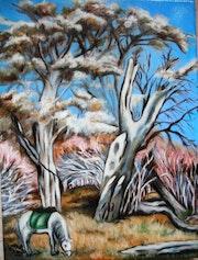 Der Baum und das Pferd. Colette Trôme