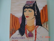 La reina de los bereberes Dihya - Kahina 689-702. Rdoby