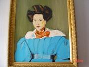Porträt von Louise Marie Laure sennegon 1831. Rdoby