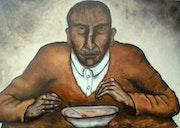 Le mangeur de soupe. Cecile Bergey
