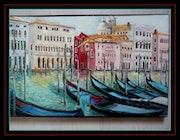 Italy: Venice Grand Canal. Monique Martin