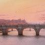Twilight auf dem Pont Neuf. Thierry Duval