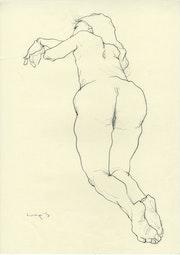Women Nude drawing 10.