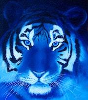 Azul tigre.