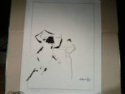 Peinture tauromachie. Claude Bories