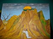 Prophète Moïse sur le mont Sinaï.. Léon Mulomba Kapata