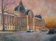März, ein Abend in Paris. Lucia Fraces