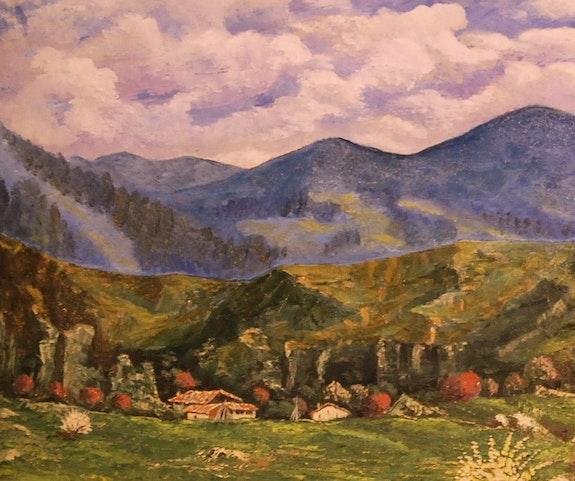 Ich möchte Detail Asturien. R. Del Santo Rafael Del Santo