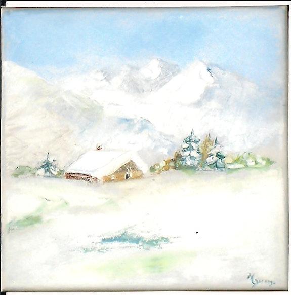 Chalet Haute Savoie. Michelle Dorange Michelle Dorange