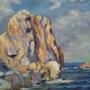 El Parr Islas Medes. Andre Blanc