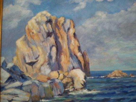 El parr Medes Islands.  Andre Blanc