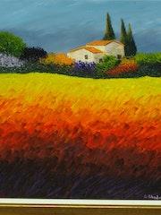 Chaleur d'été dans l'arrière pays Provençal.