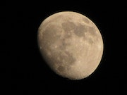 The Moon in the sky of January 16, 2011.