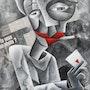 El reproductor de tarjetas (2010). Lag