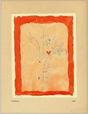 Paul Klee «Fulfillment» Rare original Serigraph from 1941.