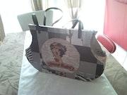 Bag design while cardboard (model new york). Michel Lefevre