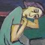 Asya… Huile sur toile… 1995. Axel Zwiener