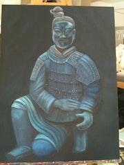 Guerrier chinois de Xian.