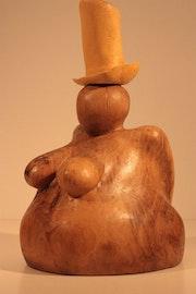 Louisiana - mujer con sombrero. Bernard Max