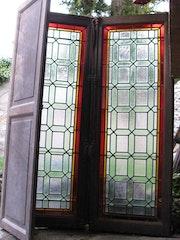 Fenetre vitrail. Atelier Coccs-Vitrail