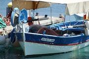 Korsischen Fischerboot. Titimimil