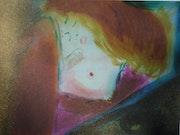 Danae (tribute to Gustav Klimt).