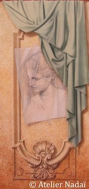Trompe-l'oeil - Study on Praxiteles. Atelier Nadaï
