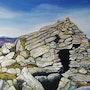 Abri de berger pyrenees orientales. Catherine Wernette